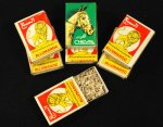 Moroccan Matchbooks with Shark Teeth